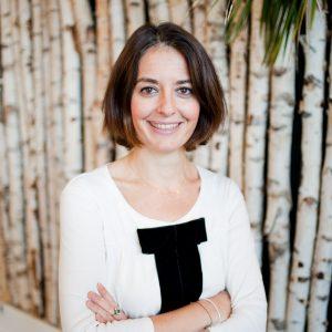 Agathe Savioz, responsable de l entrepreneuriat en Ile de France