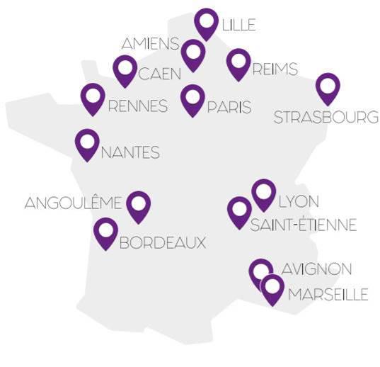 Force Femmes antennes en France